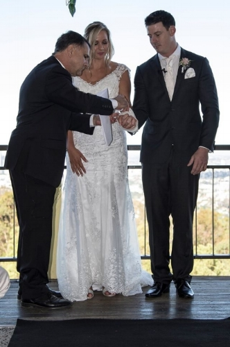 Hi Neal,  Thank you so much for being celebrant at our wedding. You did an amazing job. We were beyond thrilled with how perfectly everything turned out.  Thanks again for everything.  Aj and Shontell  Ceremony held at the Summit Restaurant and Bar Mt Coot -Tha
