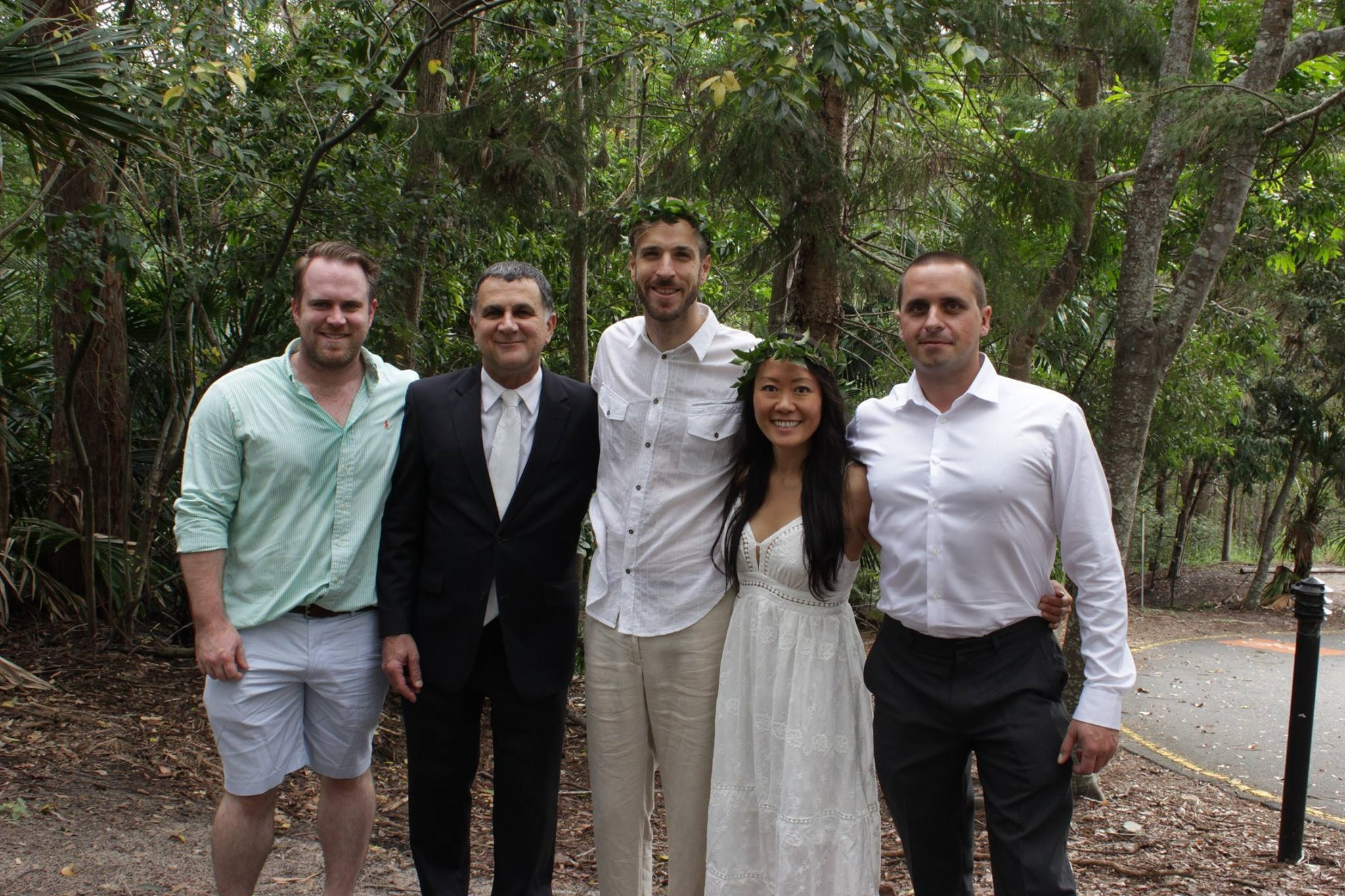 Thanks so much Neal.  It was a lovely ceremony and we all had fun.  Alli and Pablo  Ceremony held at Enoggera Reservoir