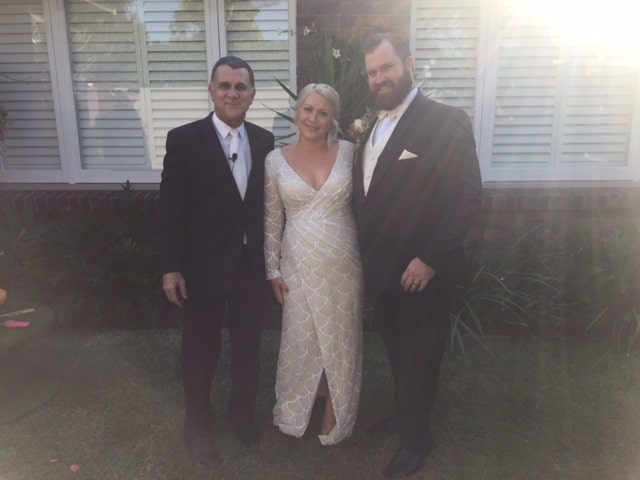 Thanks Neal.  It was a wonderful day.  We had the best time.  Thank you for officiating our wedding.  Sarah and Glynn  Ceremony held at Morningside