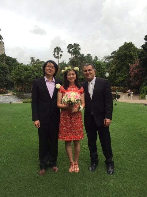 Thank you Neal,  It was our pleasure to have you as our celebrant, you are wonderful and I would definitely recommend you to my friends who want to get married :) Appreciate it again.  Cheers,  Lilia and Ke  Ceremony held at City Botanic Gardens