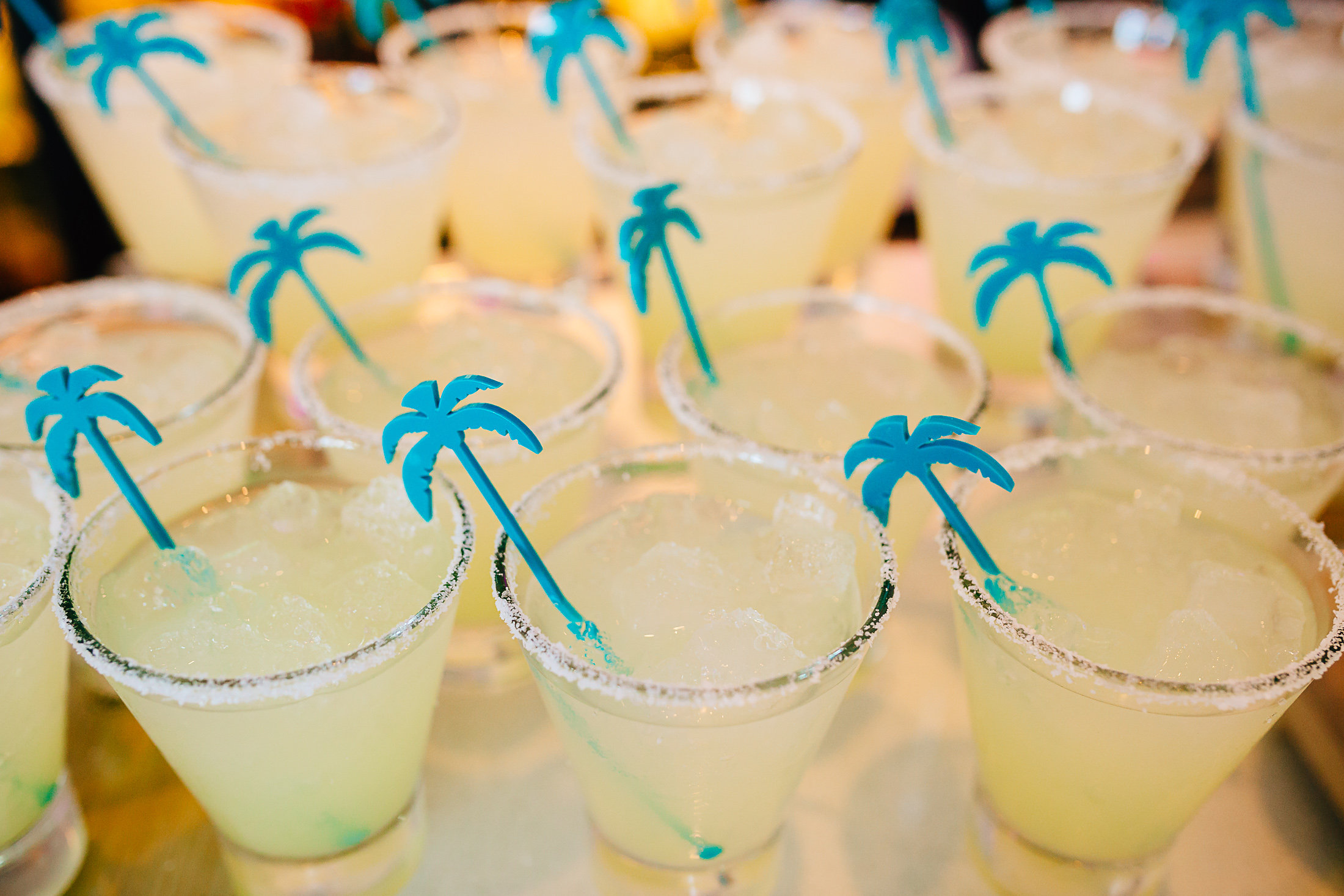 Each night's dinner was swoon-worthy, beginning with cocktails right through dessert. Photo credit: Lauren Hansen of  Lunabear Studios . Fun drink stirrers courtesy of  @johnstonstyle .