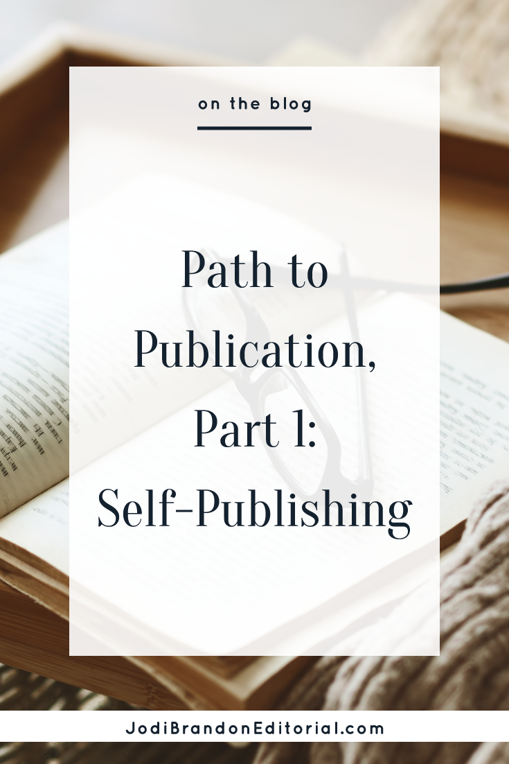 So what does it mean to self-publish? Essentially, you are the author and the publisher. You're listed as the publisher on the book's copyright page, you publish the book at your expense, and you assume responsibility for producing a professional book and distributing it to the public.  When you self-publish, you're in the driver's seat — which is one of the reasons so many entrepreneurs choose this path.  |  Jodi Brandon Editorial