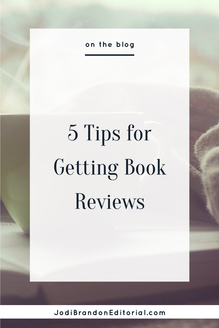 You've likely heard (correctly, I might add) that obtaining book reviews is one of the most stressful parts of the book publishing process. It's a catch-22 when your book is first released: You need reviews to sell the book, but you need people to read the book in order to get reviews.  |  Jodi Brandon Editorial