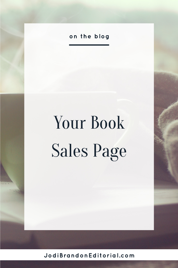 """Regardless of the format your sales page takes (whether you have a separate website for your book or it's a page on your current site), it's critical that you have one. You must have a way to capture emails to stay in touch with your readers, and Amazon, Barnes & Noble, and other booksellers are under no obligation to (nor do they) share customer information with you. Think of your book sales page as a """"one-stop shop"""" for anything and everything a potential reader would want to know about your book.  