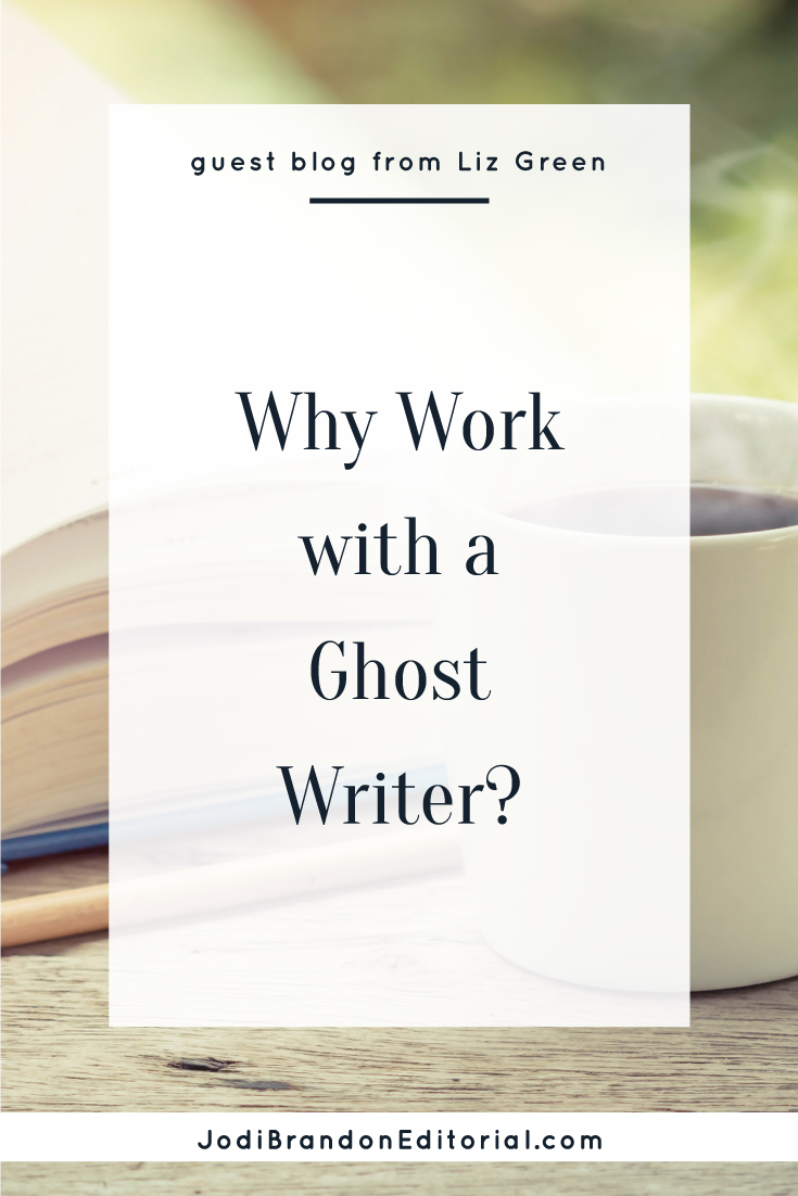 If you're struggling to write your book, you have a few options. You could just keep plugging away and hope for the best, or go to an editor, or hire a writing coach.  Then there are ghostwriters.  Why would you want to work with a ghostwriter?  |  Jodi Brandon Editorial
