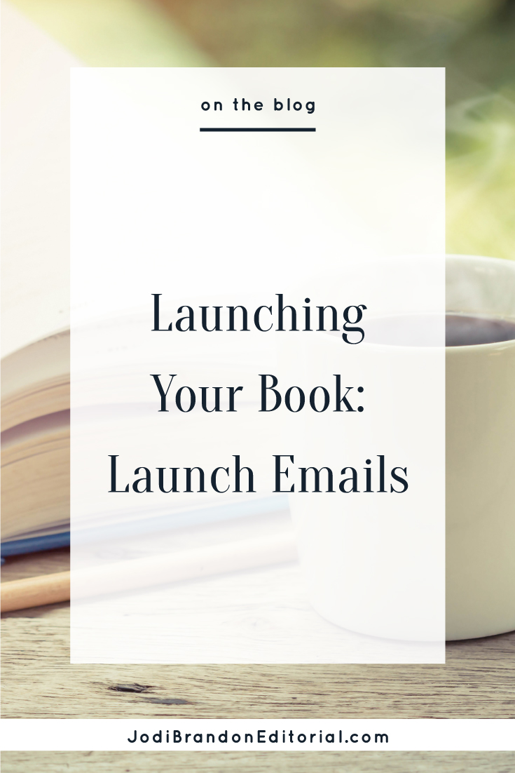 As an author-entrepreneur, you're well aware that your email list is a warm audience. So any time you launch something (a course, a new service, whatever you've been working on) it's a good place to start your sales efforts. This, of course, applies to your book/ebook as well — but with a twist.  |  Jodi Brandon Editorial