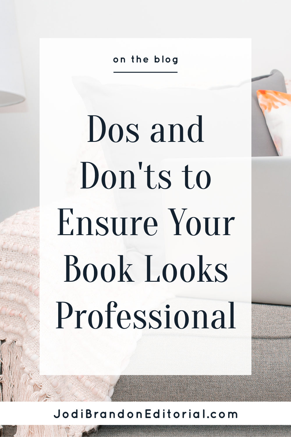 Self-publishing is on the rise. It is important for self-publishing authors (as most of my author-entrepreneur clients are) to produce a book that's as professional as possible. With that many books being published, you want your book to stand out in a good way.   |  Jodi Brandon Editorial
