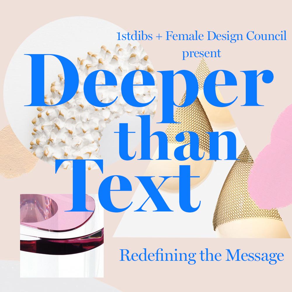 1stdibs + FDC: Deeper than Text