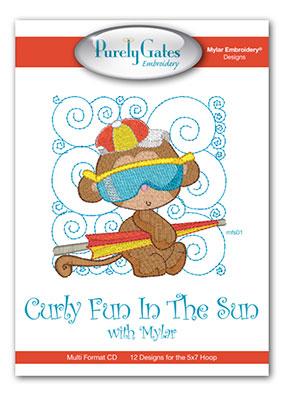 Curly Fun In The Sun with Mylar