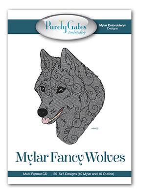 Mylar Fancy Wolves