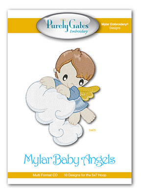 Mylar Baby Angels