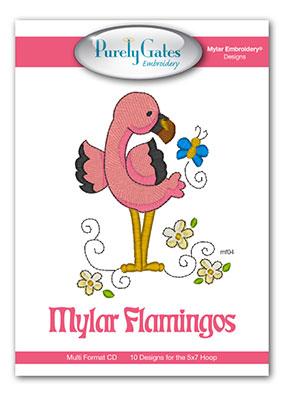 Mylar Flamingos