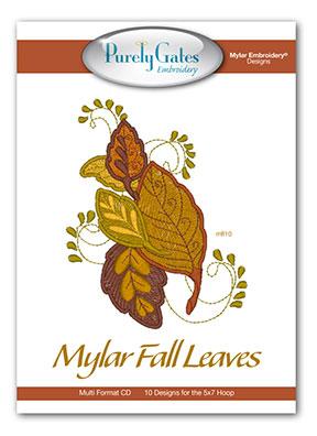 Mylar Fall Leaves