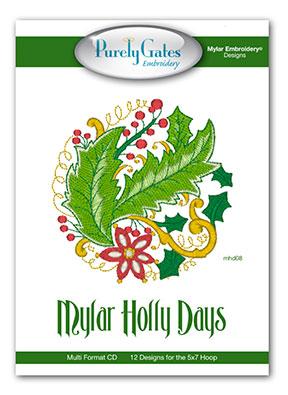 Mylar Holly Days