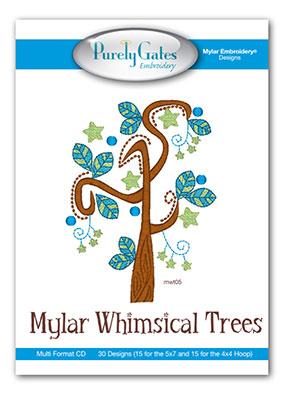 Mylar Whimsical Trees