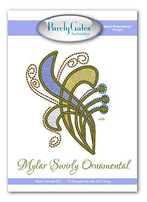 Mylar Swirly Ornamental