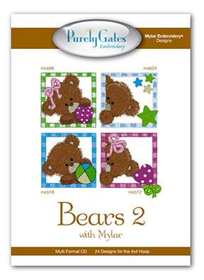 Bears 2 with Mylar