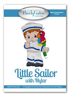 Little Sailor with Mylar