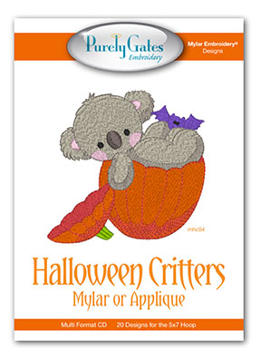 Halloween Critters Mylar or Applique