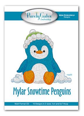 Mylar Snowtime Penguins