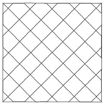 *Grid Quilting block sizes:  4, 5, 6, 7, 8 inch sq.