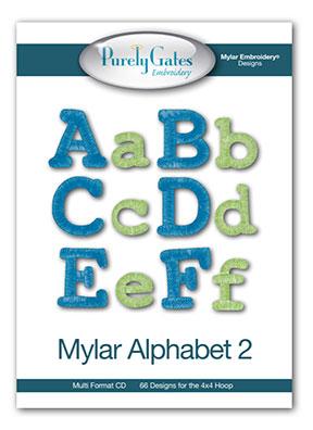 Mylar Alphabet 2