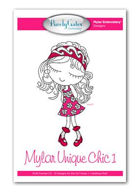Mylar Unique Chic 1