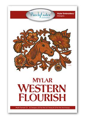 Mylar Western Flourish