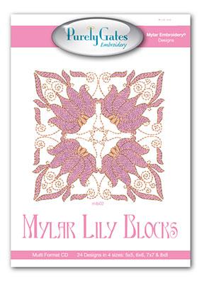 Mylar Lily Blocks