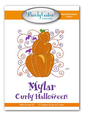 Mylar Curly Halloween