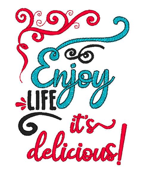 Enjoy Life (5x7)