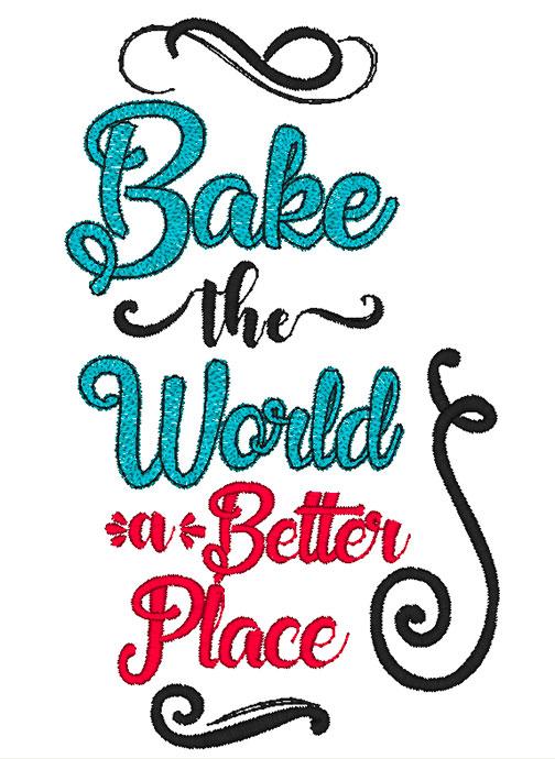Bake the World (8x8)