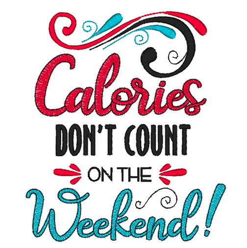 Calories Don't Count (8x8)