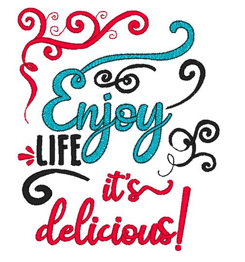 Enjoy Life (8x8)