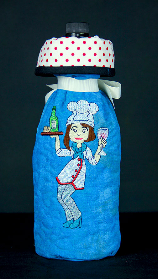Wine Bottle Cover Front