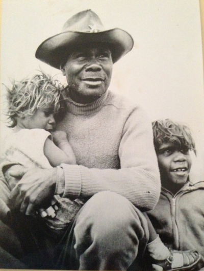 Sidney Stewart with His Children, before moving off of country.