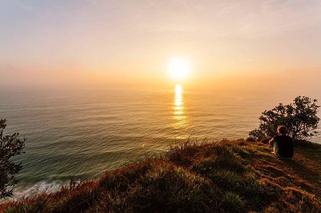 Sunrise at the lighthouse lookout in Byron Bay #byronbay #visitnsw #visitbyron #sunrise #ocean #nsw #australia #travelgram #travel #traveling #nature #landscape #canonaustralia #canon_photos #imagesupply