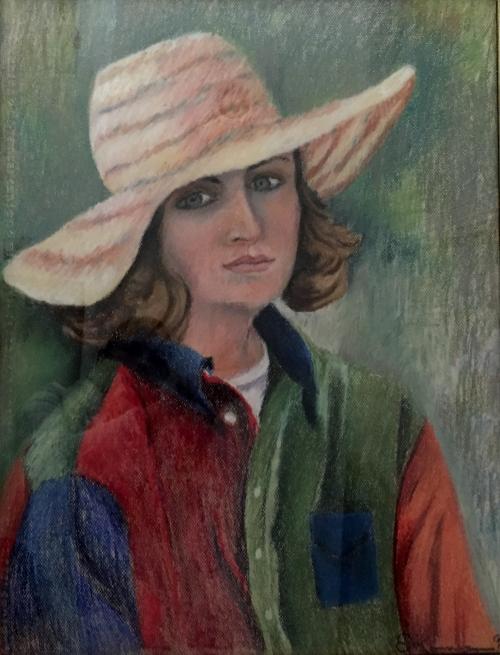 Pastel Portrait of Denise by Susan Koenig