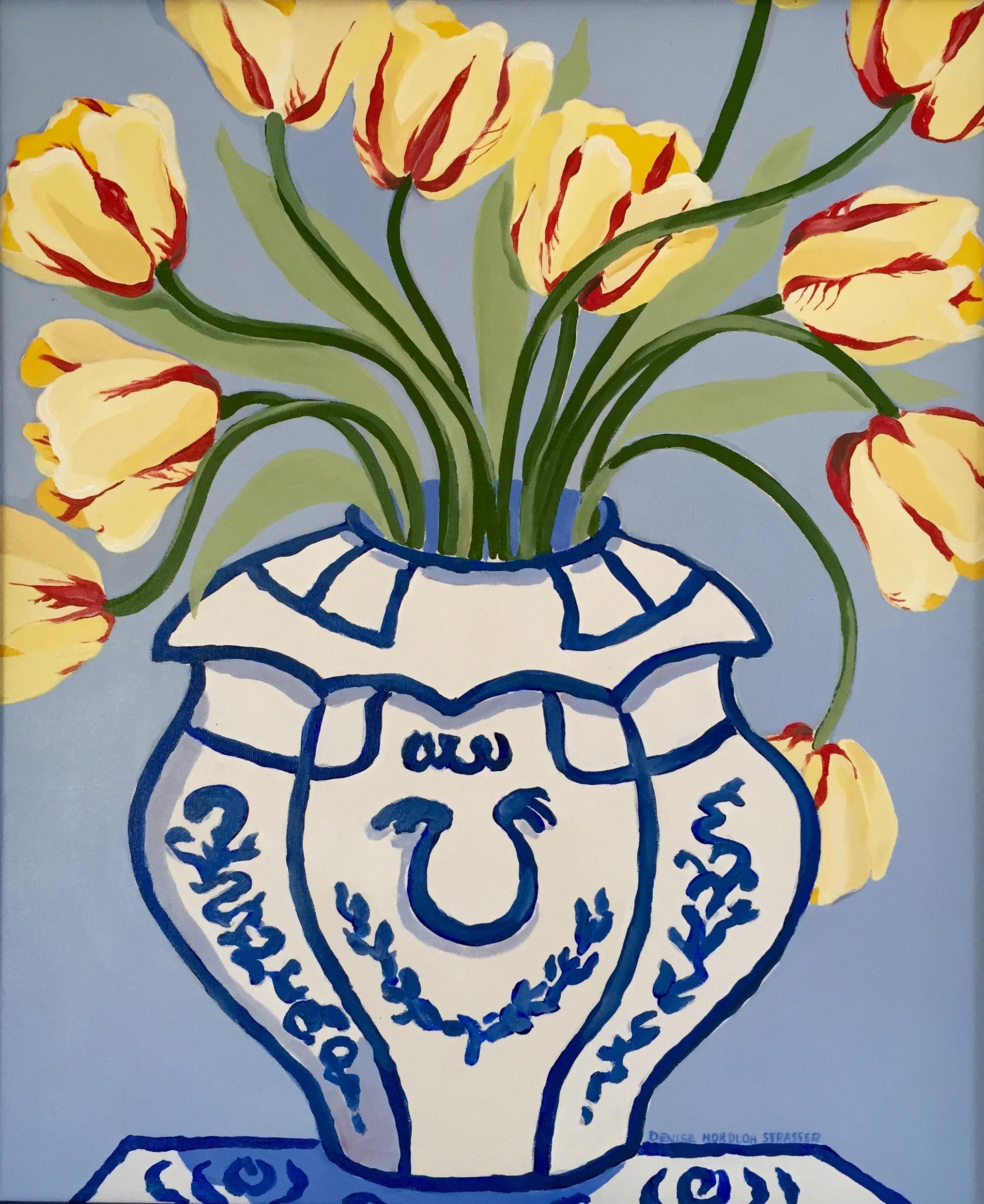 Tulip in Vase