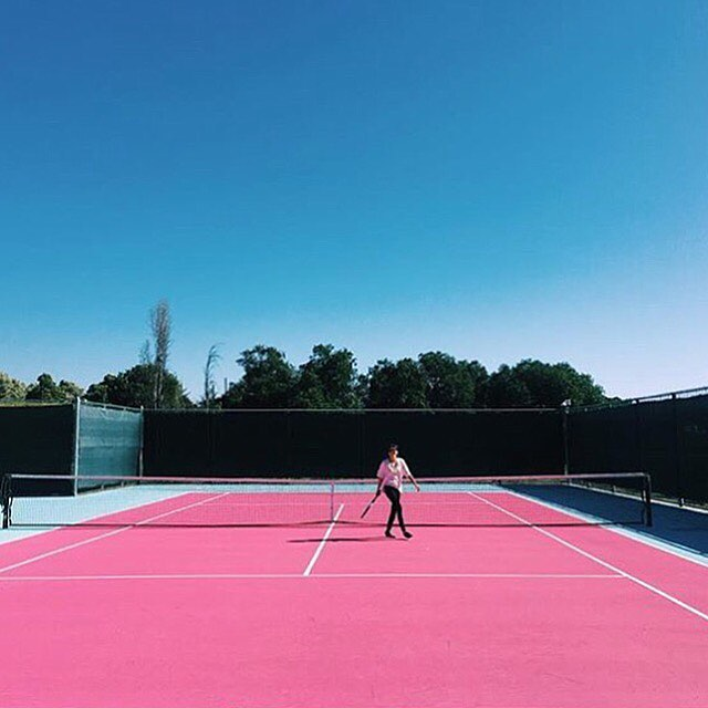 Do Not Disturb: Winning Winning on and off the court with @jesushands and @learnfern. Who's in your chill spot? Tag a friend to #makechill. . . . #morechill #beenchill #artofchill #prochillas #winning #tennis #tenniscourt #familygoals #relationshipgoals #pinkaesthetic #minimal #minimalmood #mindtheminimal #minimalmovement #minimalexperience #unlimitedminimal #theartofslowliving #cannabisdesign #cannabiscommunity #cannabisculture #chillspots #chill #vibes #highlife #highsociety #stonernation #onlysmokethefinest #productivestoner #streetdreamsmag