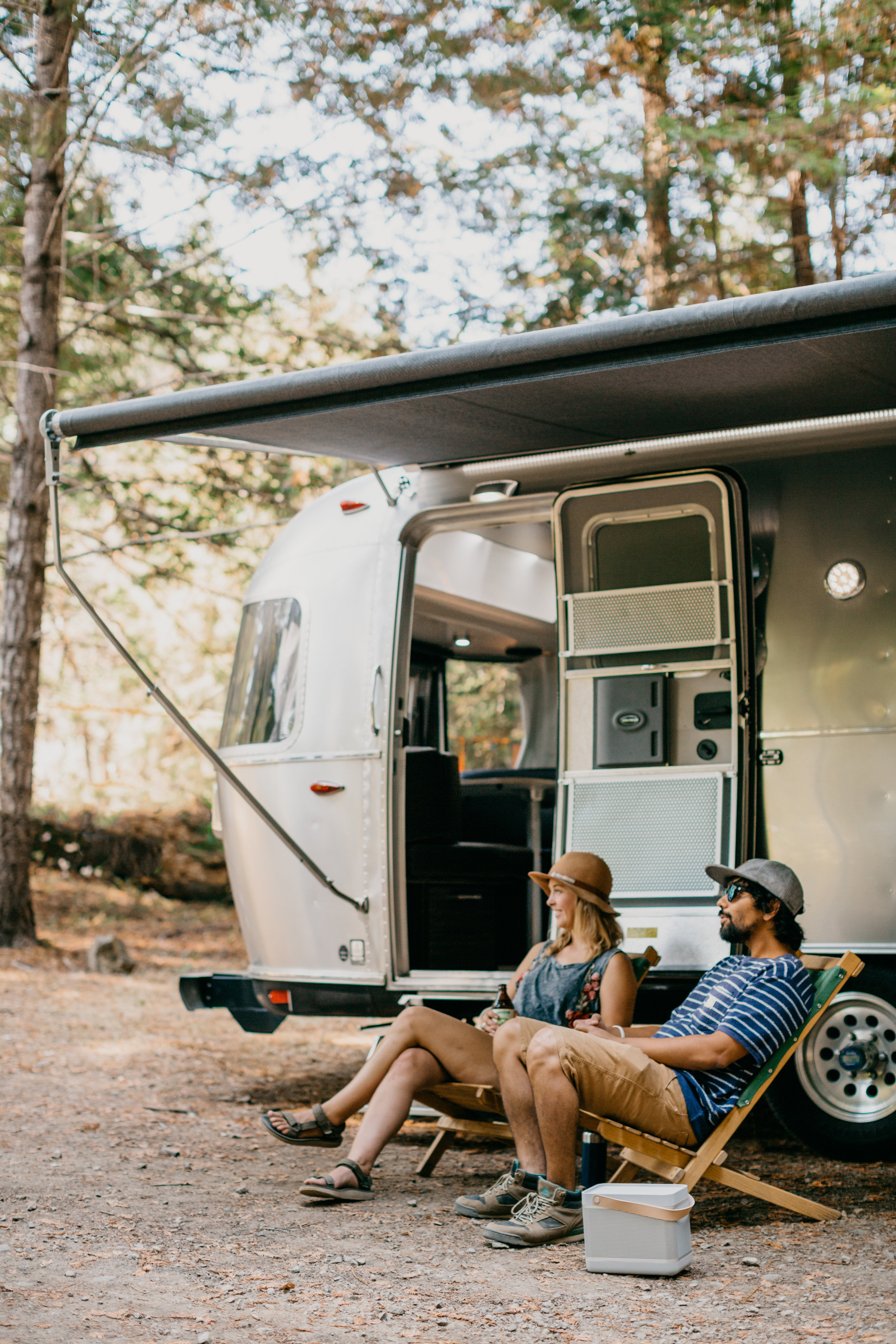 The Beolit 17 can crank out enough sound for the whole campground to enjoy
