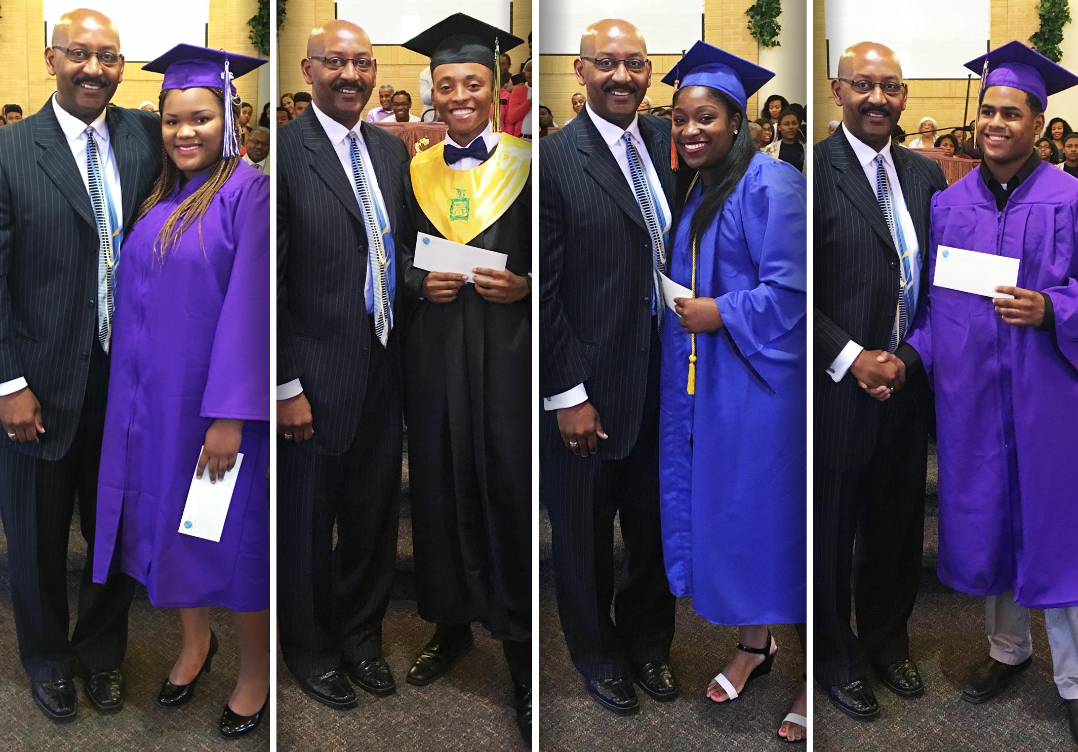 2016 W. C. Clark Memorial Scholarship Recipients