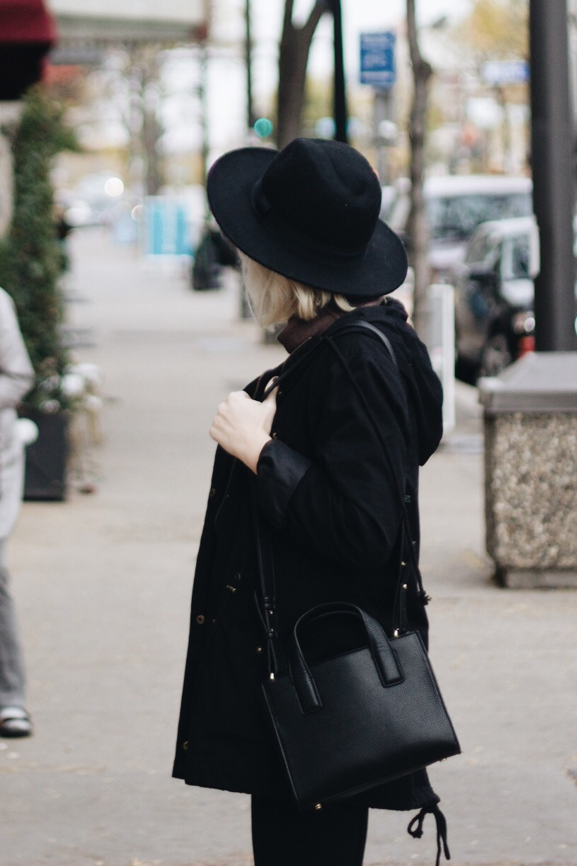 Hat / H&M Coat / Forever 21