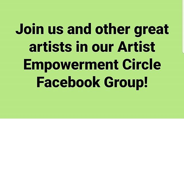 Get FREE features, promotions, learn, and share in an amazing group with other creative artists like you! Click the link in Bio to join now... tag and like to spread the word!!
