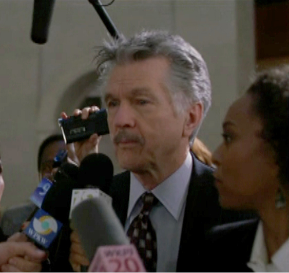April with Tom Skerritt on L&O:SVU