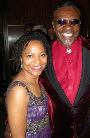 April and Keith David sing at Carnegie Hall