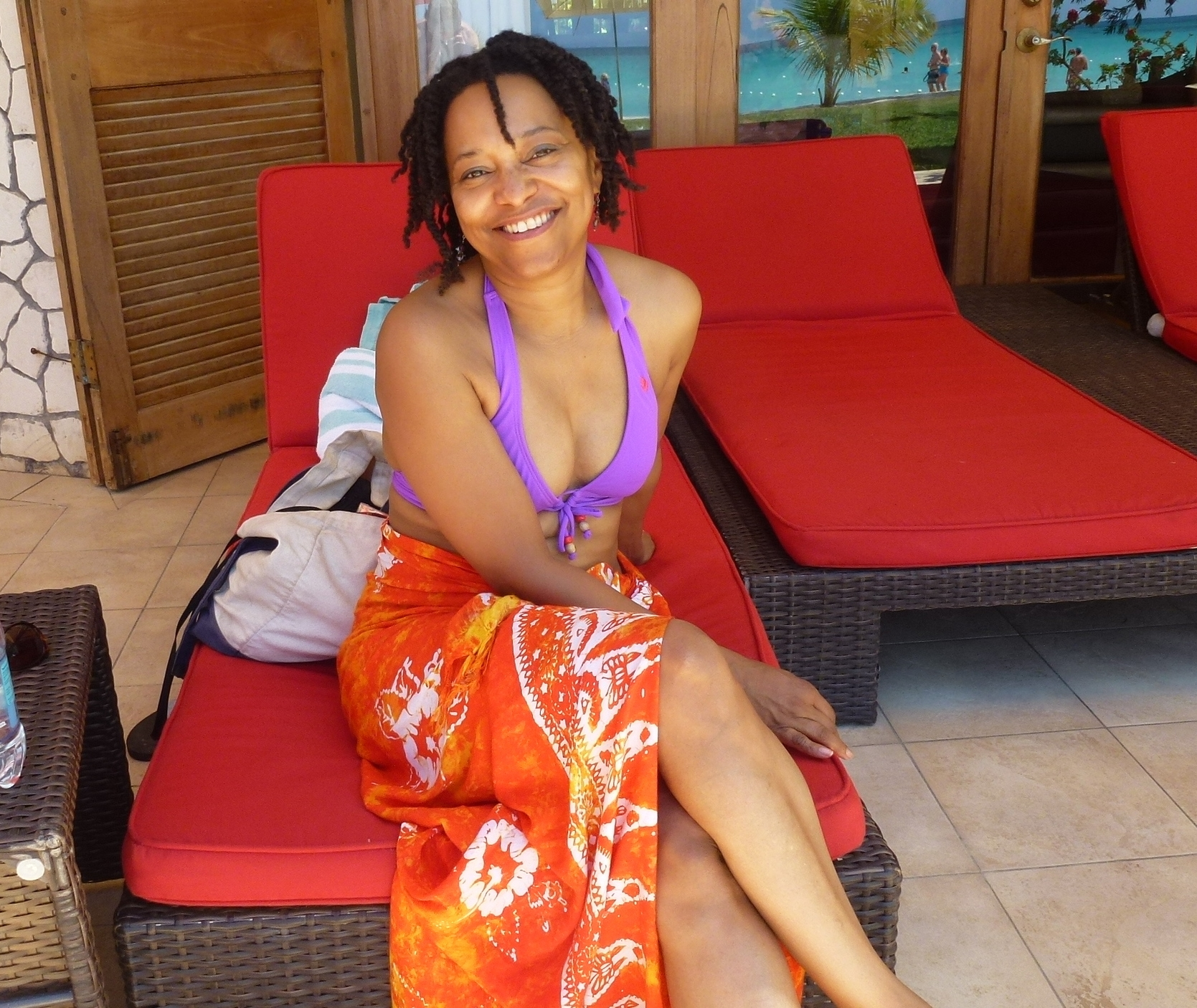 Relaxing in Negril, Jamaica