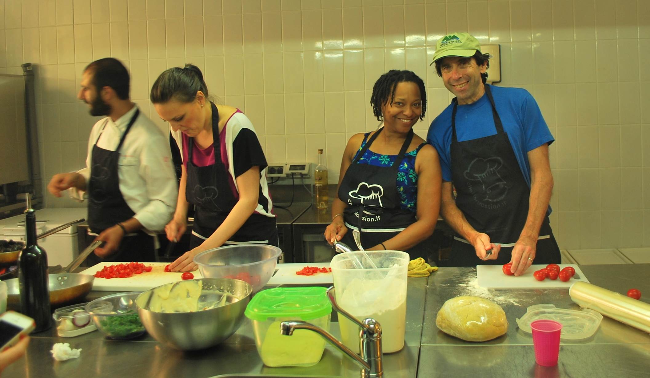 Cooking class in Sorrento, Italy
