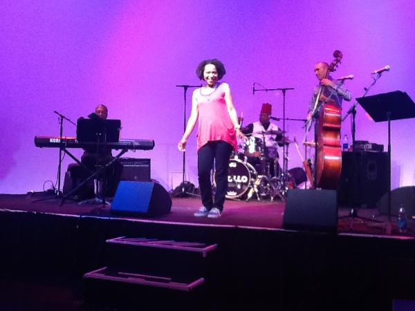 April's Jazzy Twist show at the Apollo Theater
