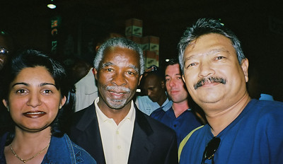 President Thabo Mbeki taken with a Kodak APS camera